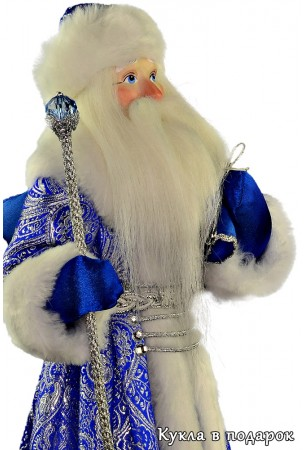 Дед Мороз с мешком борода из искусственного меха