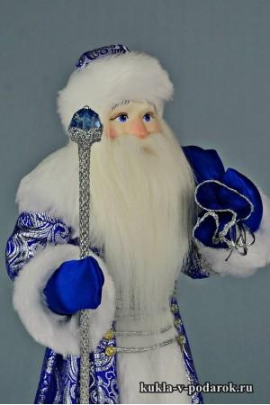 Фото Дед Мороз с мешком новогодний сувенир