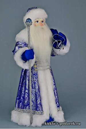 Фото Дед Мороз с мешком на плече в подарок под елку