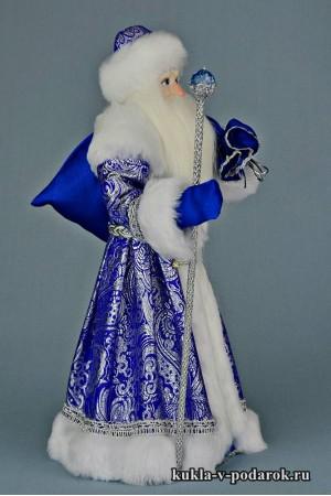 Фото Дед Мороз с мешком красивая кукла в подарок