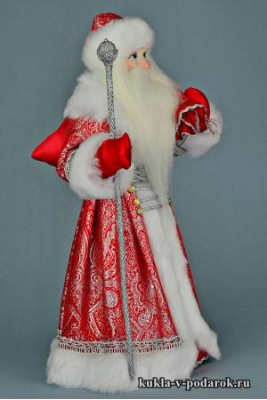 Фото Дед Мороз с мешком в подарок