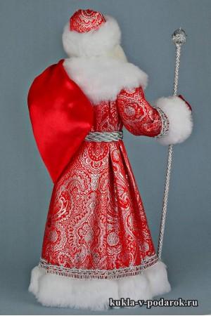 Фото Дед Мороз с мешком авторская кукла