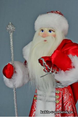 Фото Дед Мороз с мешком готовая работа