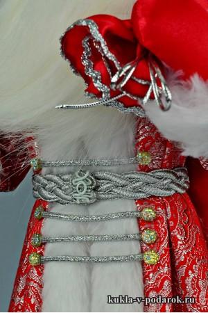 Фото Дед Мороз с мешком сувенир из Москвы