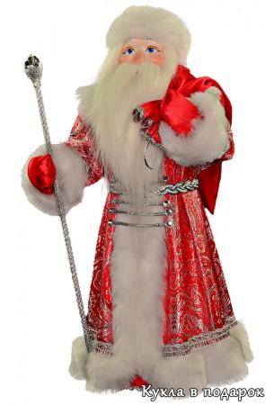 красивый Дед Мороз с мешком готовая работа