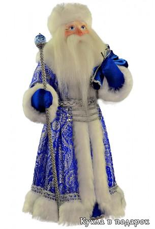 Дед Мороз с мешком подарок на Новый год
