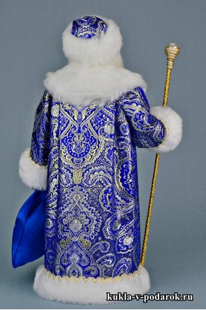 Фото Дед Мороз с посохом и мешком подарков для детей и взрослых