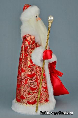 Фото Дед Мороз с посохом ручная авторская работа