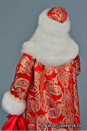 Фото Дед Мороз с посохом готовая кукла