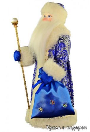 Оригинальный сувенир кукла Дед Мороз в подарок