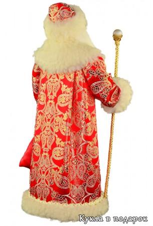 Сделано в России Москва кукла Дед Мороз с посохом