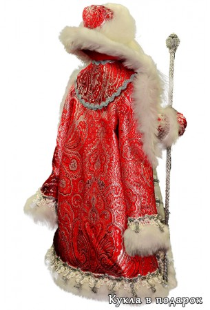 Дед Мороз под елку хенд мейд кукла hand made