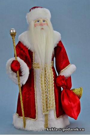 Фото Дед Мороз красный нос кукла в подарок