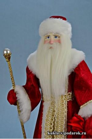 Фото Дед Мороз красный нос русская кукла из Москвы