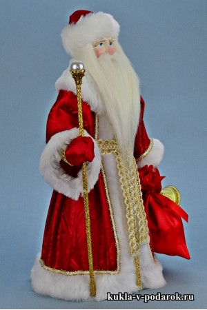 Фото Дед Мороз красный нос авторская кукла