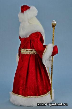 Фото Дед Мороз красный нос кукла готовая работа