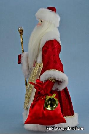Фото Дед Мороз красный нос подарок на Новый год