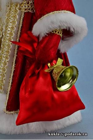 Фото Дед Мороз красный нос новогодний московский сувенир