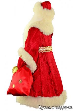 Дед Мороз красный нос хенд мейд подарок