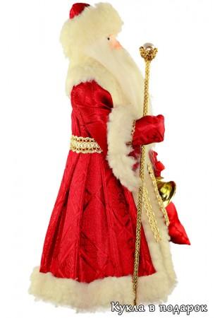 Дед Мороз красный нос сделано в России Москва