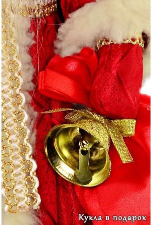 Дед Мороз красный нос русская кукла
