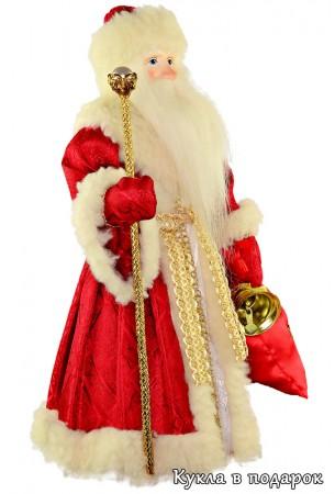 Дед Мороз красный нос авторская кукла