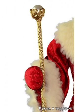 Волшебный посох Деда Мороза красный нос