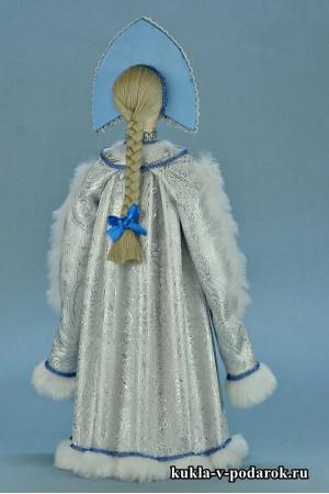 фото красивая Снегурочка готовая хенд мейд кукла