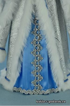 фото красивая кукла русская Снегурочка в подарок
