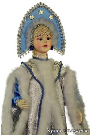 красивая Снегурочка кукла ручной работы