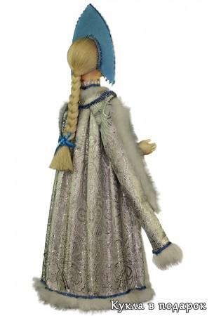 красивая Снегурочка готовая хенд мейд кукла