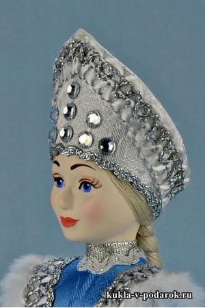 фото детали одежды Снегурочки под елку