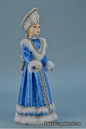 фото кукла Снегурочка под елку