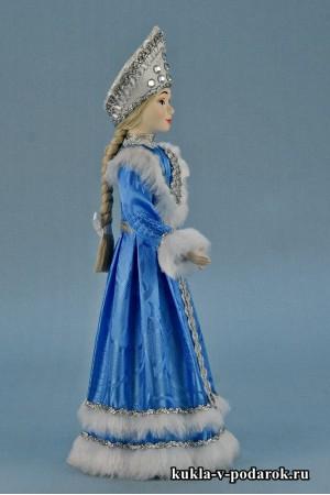 фото авторская Снегурочка кукла под елку