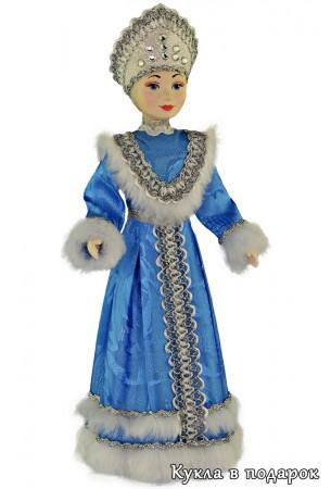 Снегурочка под елку кукла в подарок