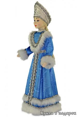 Снегурочка кукла под елку в кокошнике