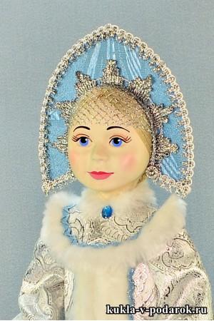 фарфоровая Снегурочка красивый подарок