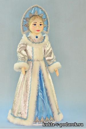 фарфоровая Снегурочка кукла в подарок