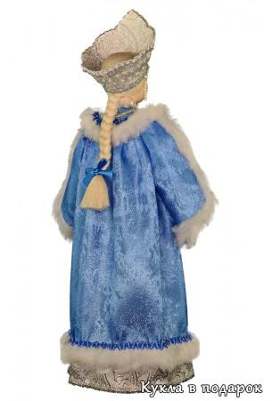 Снегурочка в голубом костюме русский подарок