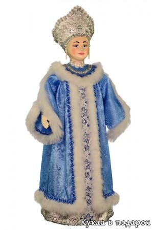 Кукла в подарок русская Снегурочка