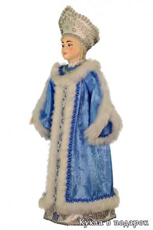 Русский подарок на Новый год кукла Снегурочка