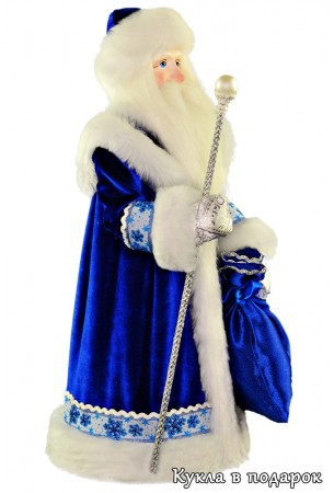дед мороз из ссср авторская кукла