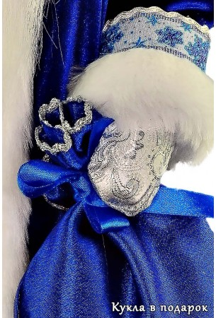 дед мороз из ссср русская красивая кукла