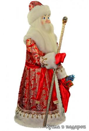Дед Мороз большой авторская кукла