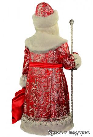 Большой подарок на Новый год кукла Дед Мороз