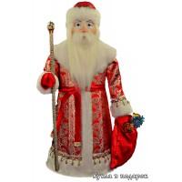 Кукла большой Дед Мороз в подарок