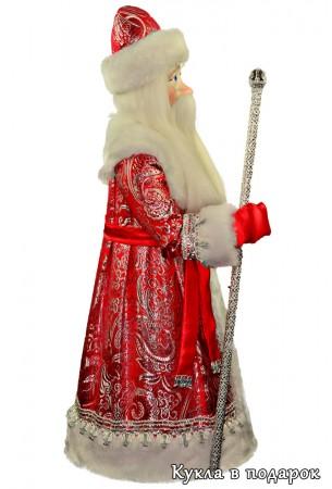 Большой новогодний подарок кукла Дед Мороз