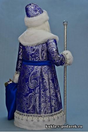 Фото Дед Мороз большой готовая хенд мейд кукла
