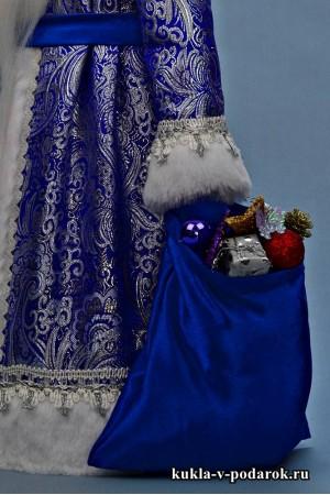 Фото Дед Мороз большой в синей одежде