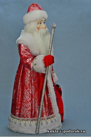 Фото Дед Мороз большой красивый подарок под елку